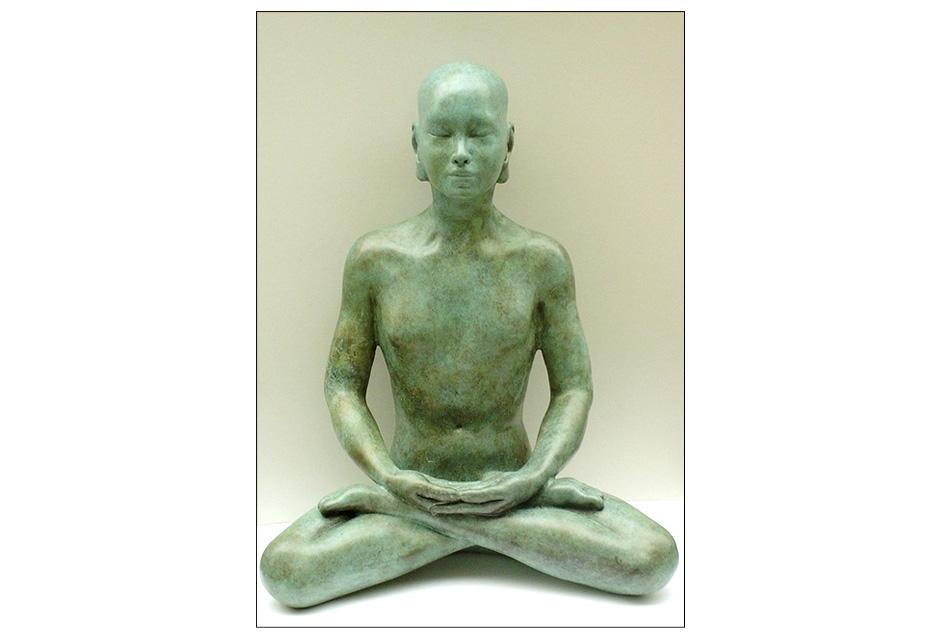 Bronze Buddha Sculpture- Meditation