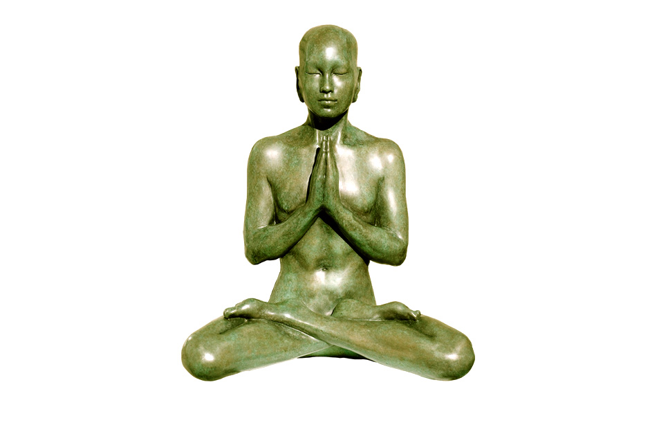 Bronze Buddha Sculpture- Prayer