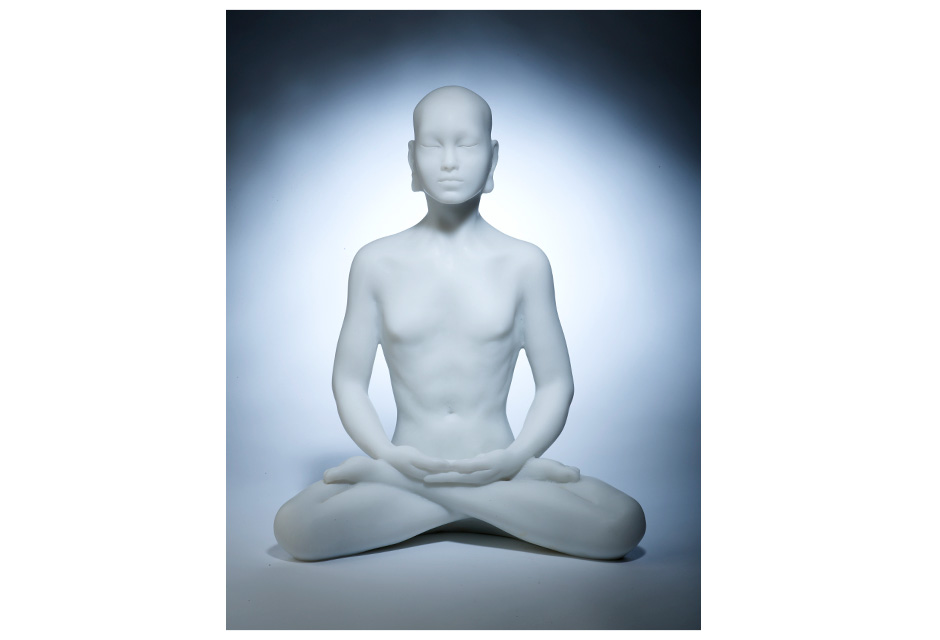 Marble Resin Buddha – meditation