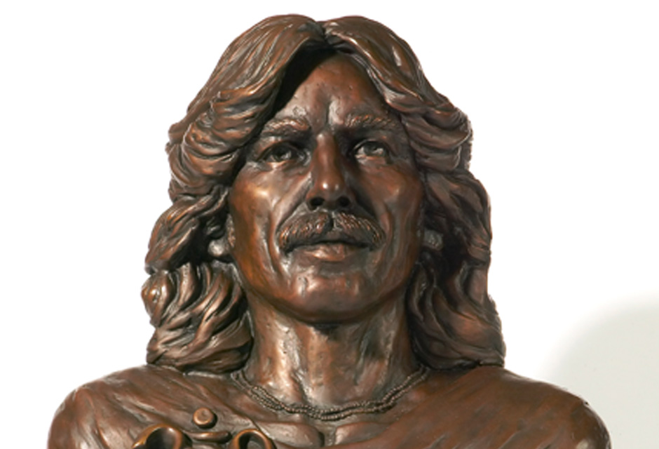 George Harrison Sculpture