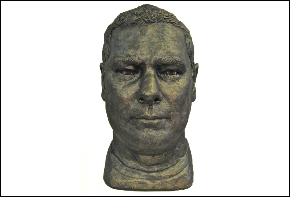 Frank Gowan Portrait Sculpture