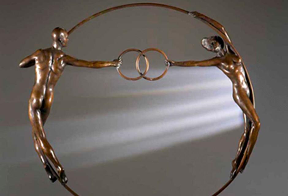 Vesica Pisces – Olympic Bronze Sculpture