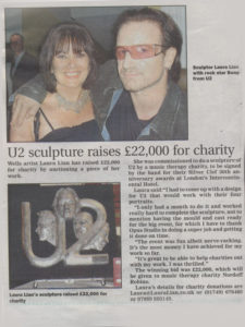 U2 News clipping
