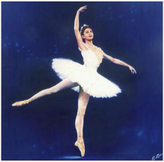 Margot Fonteyn Painting