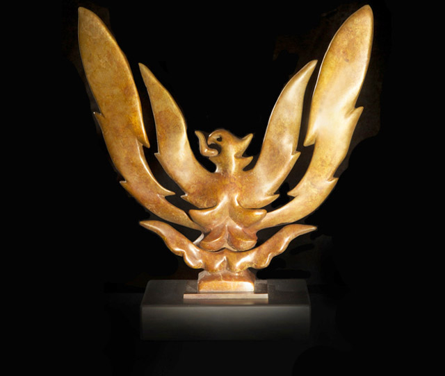 Bronze Sculpture of Phoenix