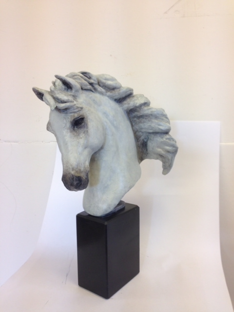 White Horse Head 'Equine Spirit'