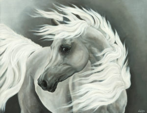'Ghost Horse' Painting II