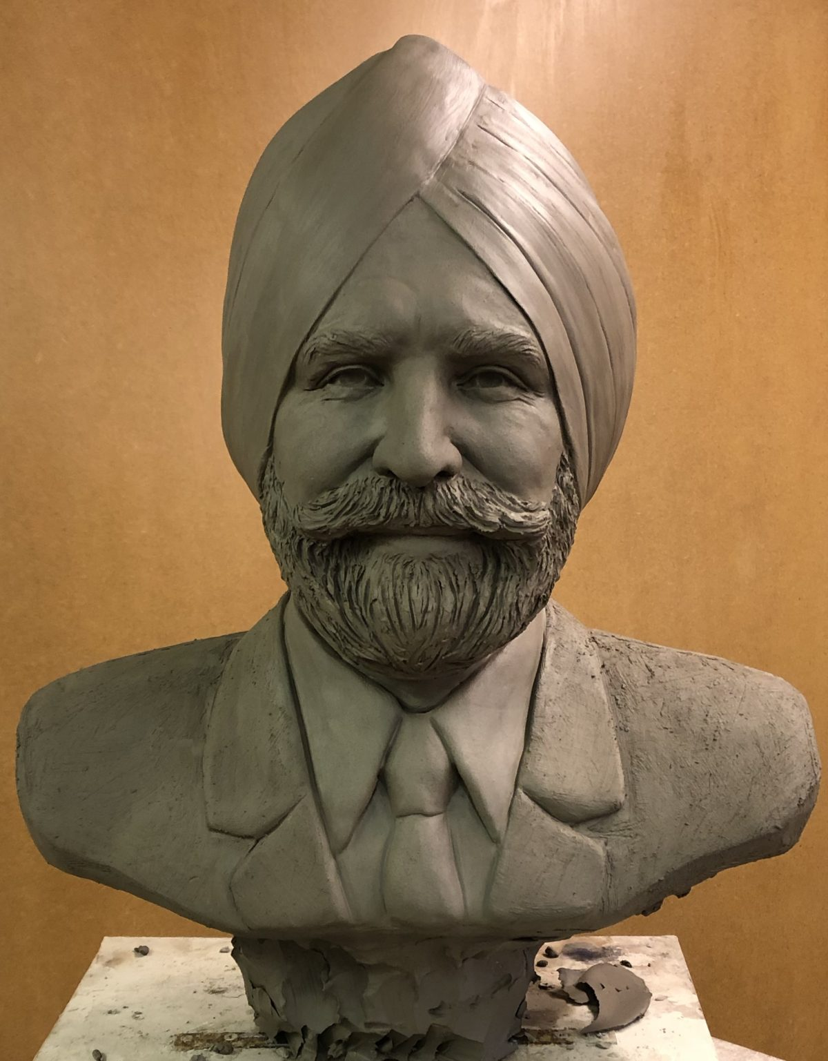 Sculpture portrait of Sikh bust