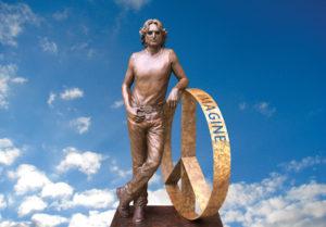 John Lennon Peace Statue by Laura Lian