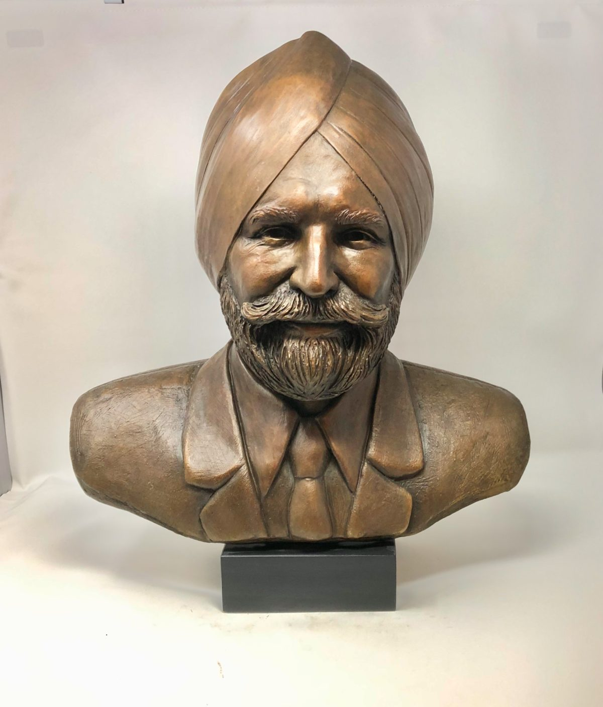 Sikh Bust Art by Laura Lian
